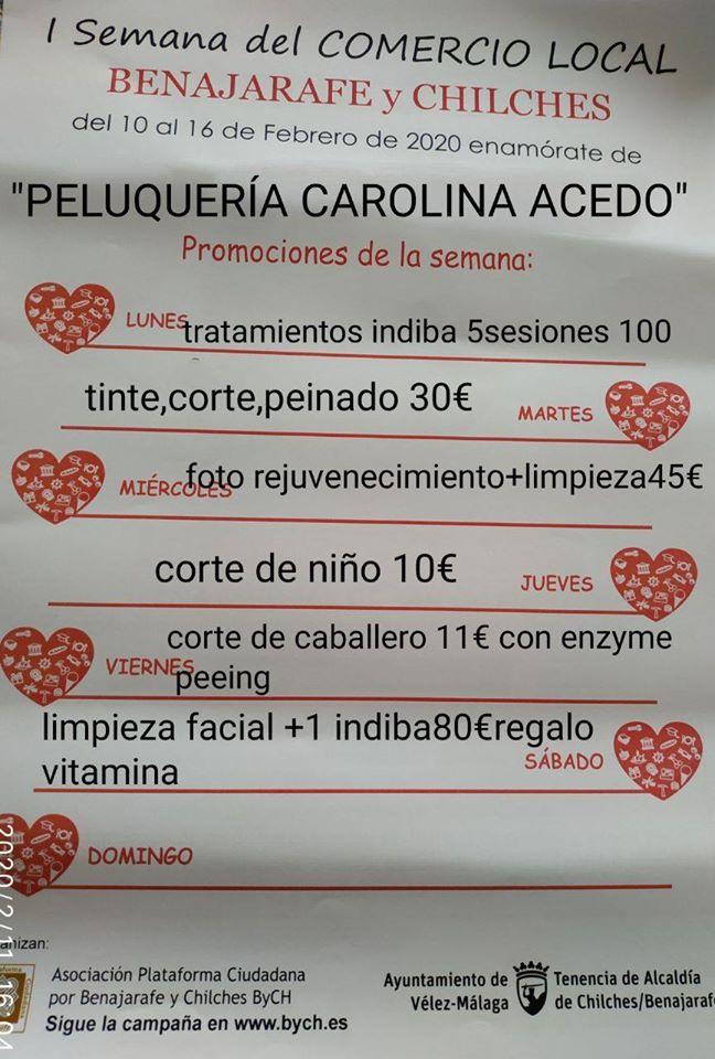 Peluqueria Carolina Acedo
